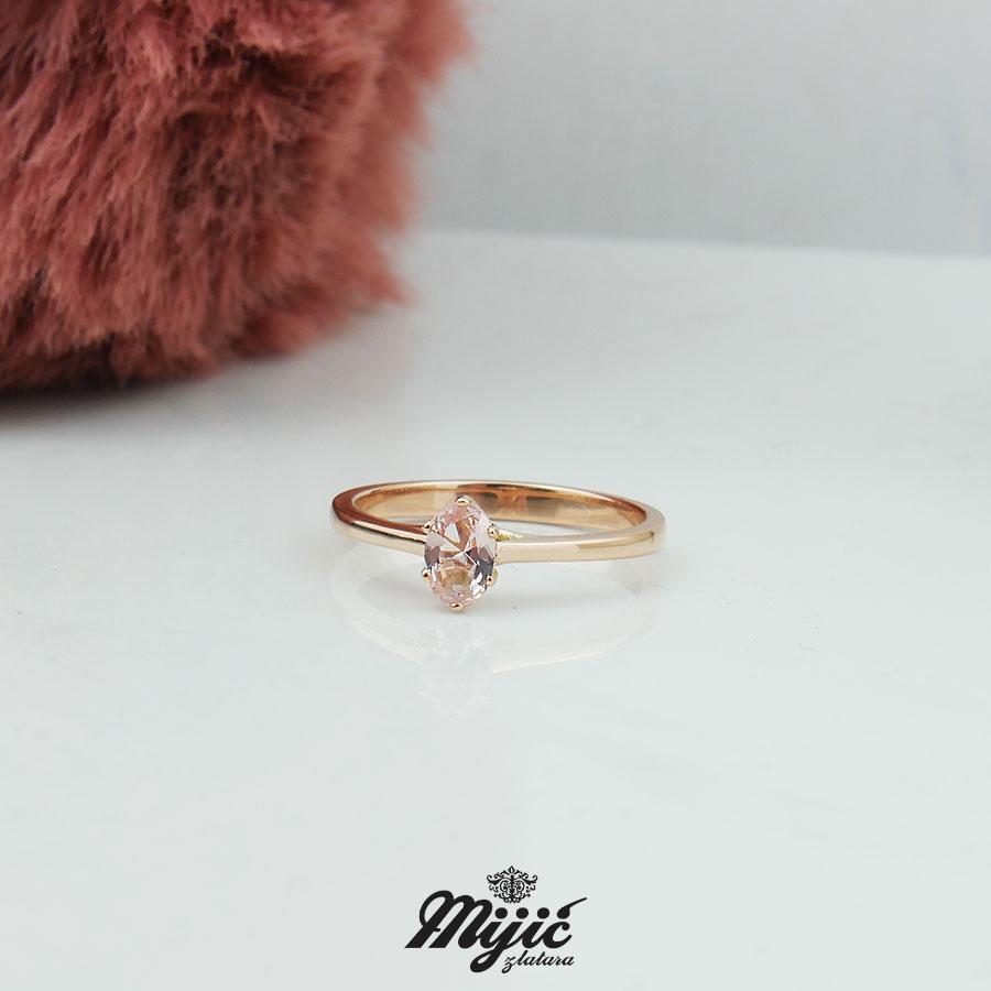 Prsten sa morganitom